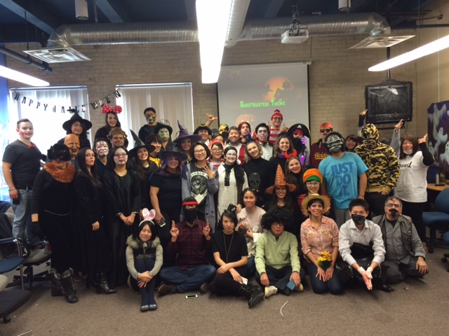 Halloween Students Group