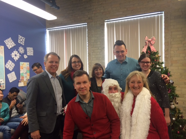 Christmas Santa 5 - Heartland teachers and Staff